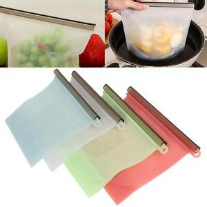 8-16Reusable-Silicone-Food-Fresh-Bag-Vacuum-Sealer-Storage-Lunch-Snack-Bags