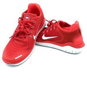 Nike-Free-RN-2018-Men-039-s-Running-Shoes-Speed-Red-White-942836-600-Sizes-9-12