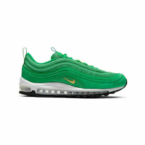 Nike Air Max 97 Lucky Green Olympic Rings Gold Black White Size Men 10