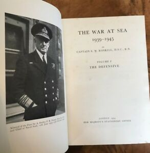 The-War-At-Sea-1939-1945-Volume-1-The-Defensive-SW-Roskill