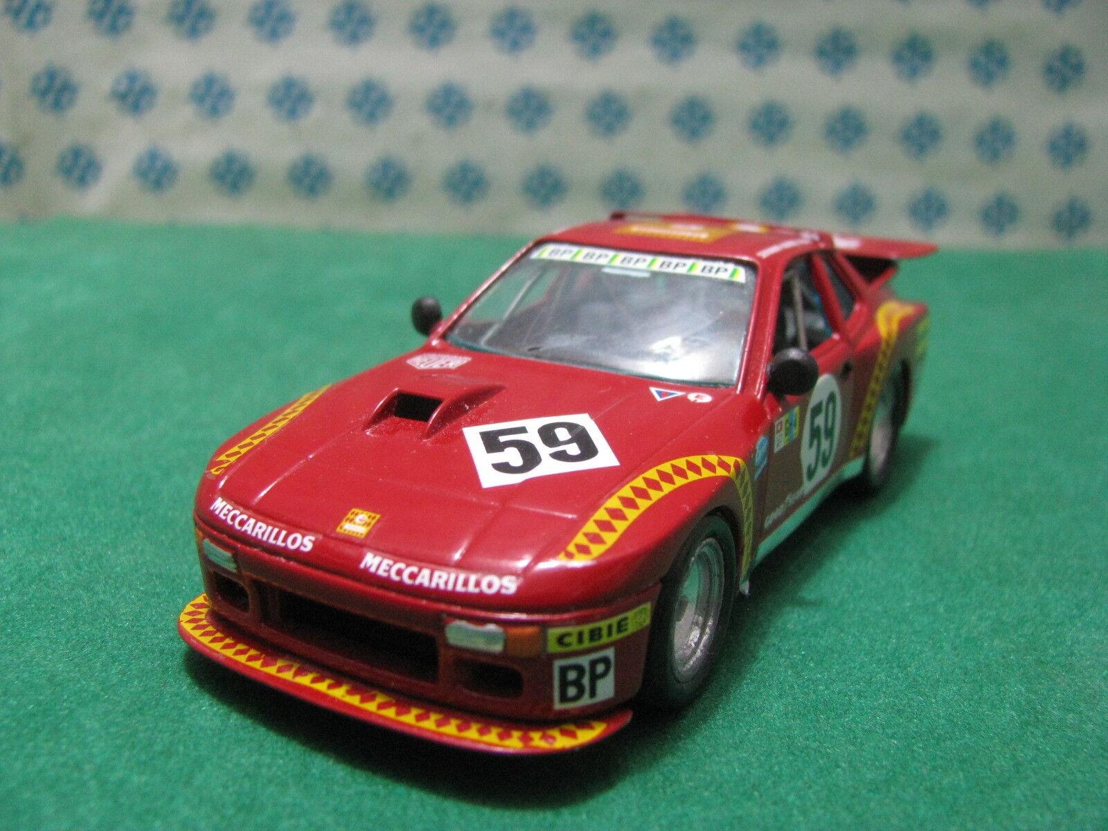 Porsche 924 Turbo Scuderia Mecarillos - 1 43 Traitement Kit Artisanat