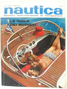 NAUTICA-mensile-internazionale-di-navigazione-Anno-III-n-25-Marzo-1964-Buono