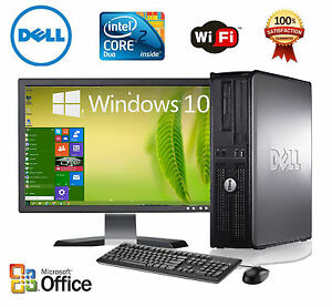 'CLEARANCE-Fast-Dell-Desktop-Computer-PC-Core-2-Duo-WINDOWS-7-10-LCD-KB-MS' from the web at 'https://i.ebayimg.com/images/g/964AAOSwIhxZZivf/s-l300.jpg'