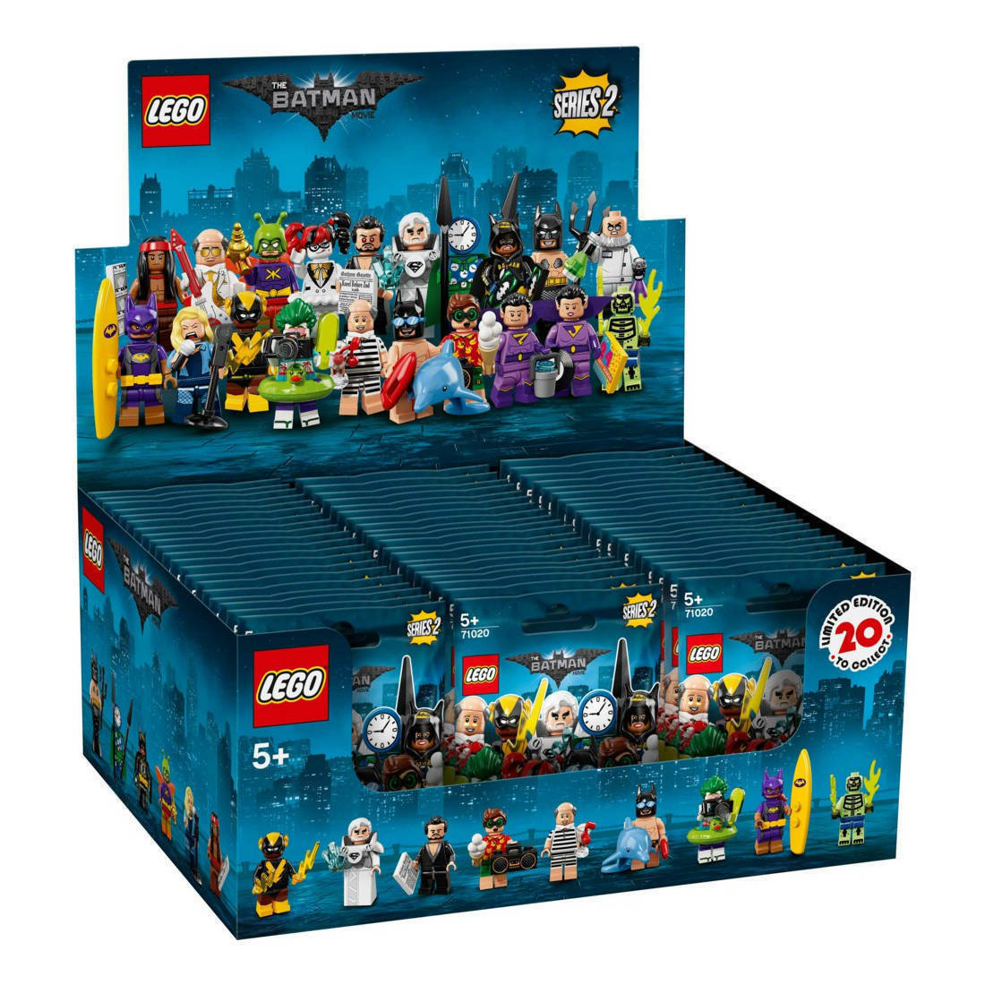 71020 LEGO® Minifiguren - Serie 2 Batman (BOX á 60 Stück) display