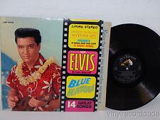 ELVIS PRESLEY Blue Hawaii LP RCA Victor LSP-2426 Living Stereo 1961 silver label