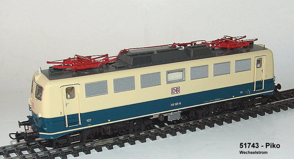 Piko 51743 - Locomotora Eléctrica Br  Db - Wechselstromversion - Mfx