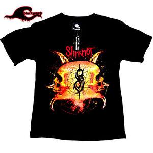 Slipknot-Classic-Double-Skull-Band-T-Shirt