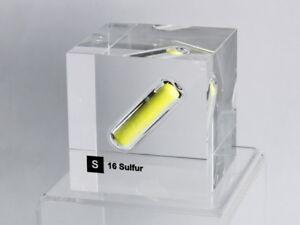 Acryl-Elemente-Wuerfel-Schwefel-50x50x50mm-Acrylic-cube-Sulfur