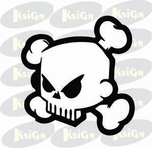 Ken-Block-skull-car-vinyl-decal-window-laptop-sticker-Multi-color