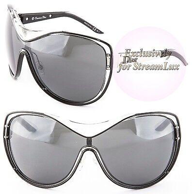CHRISTIAN DIOR STRIKING Crystal Black Palladium Sunglasses DIOR STRIKING 62ZP8