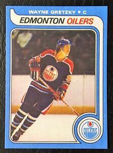 1979-Topps-18-WAYNE-GRETZKY-ROOKIE-RC-Oilers-REPRINT-HOCKEY-CARD-Sweet-LOOK