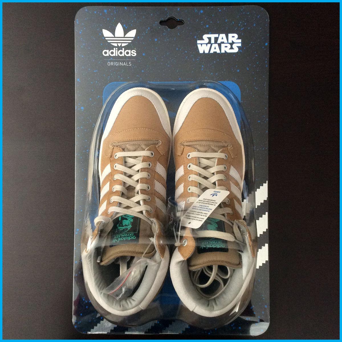 Adidas Originals - Star Wars SKYWALKER HOTH shoes White 10.5 US RARE NIB SIB