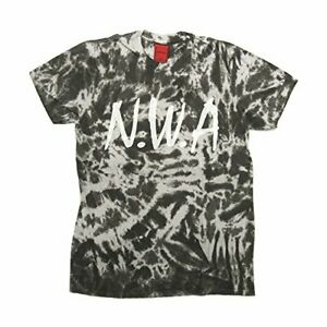 N-W-A-T-Shirt-Logo-New-Official-Licensed-Mens-Unisex-Tie-Dye-NWA-Hip