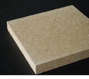 Fire brick qualité uk british vermiculite board 595mm x 300mm x 25mm