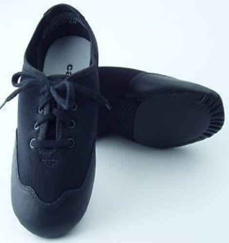Black Techno Oxford Lace Up Jazz Shoe Fits Women/'s 12.5 Capezio TJ10A 13.5M