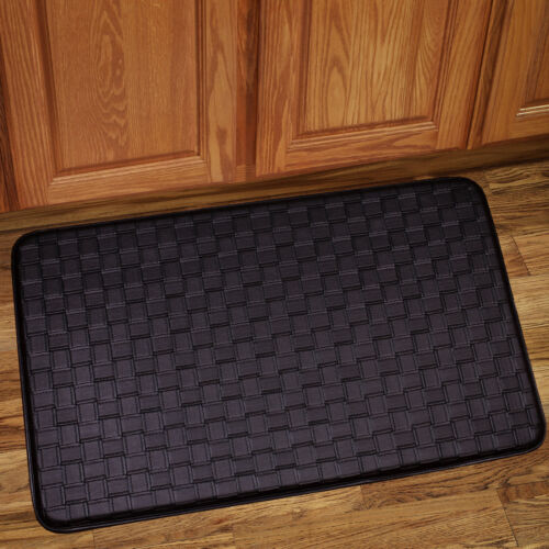 "Memory Foam Anti Fatigue Kitchen Floor Mat Rug 30/"" x 18/"" Playa Chocolate"