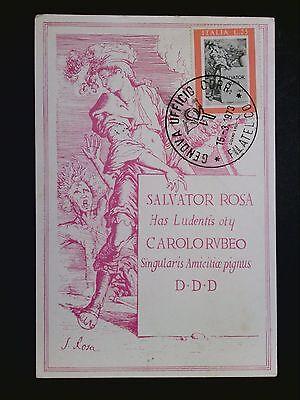 Beliebte Marke Italien Mk 1973 Rosa Dichter Poet Art Kunst Maximumkarte Maximum Card Mc C8590