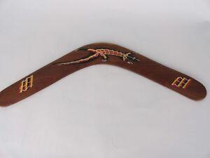Bunabiri-Aborigine-Boomerang-The-Dreamtime-Hand-Painted-Australia-18-Inch