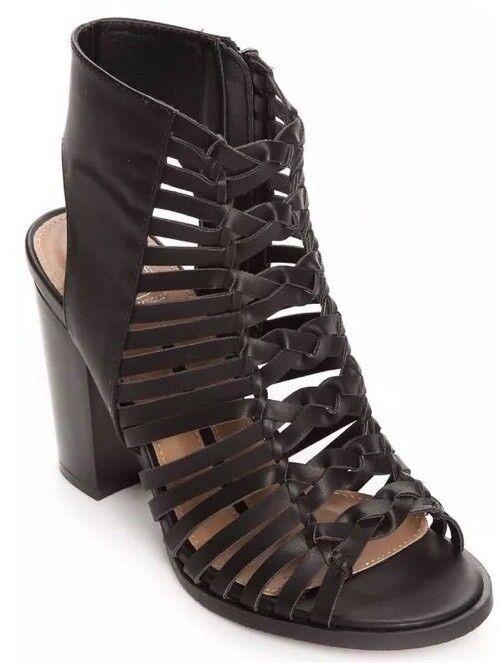 nouveau in Box nouveau Directions Pour Femme Chaussures Taille 7.5 Med  Noir Sling Sandale fabricants Standard prix de détail  59