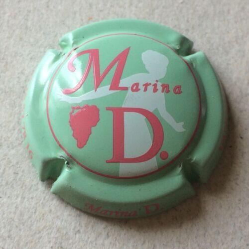 Capsule de Champagne MARINA D. 7. vert pâle