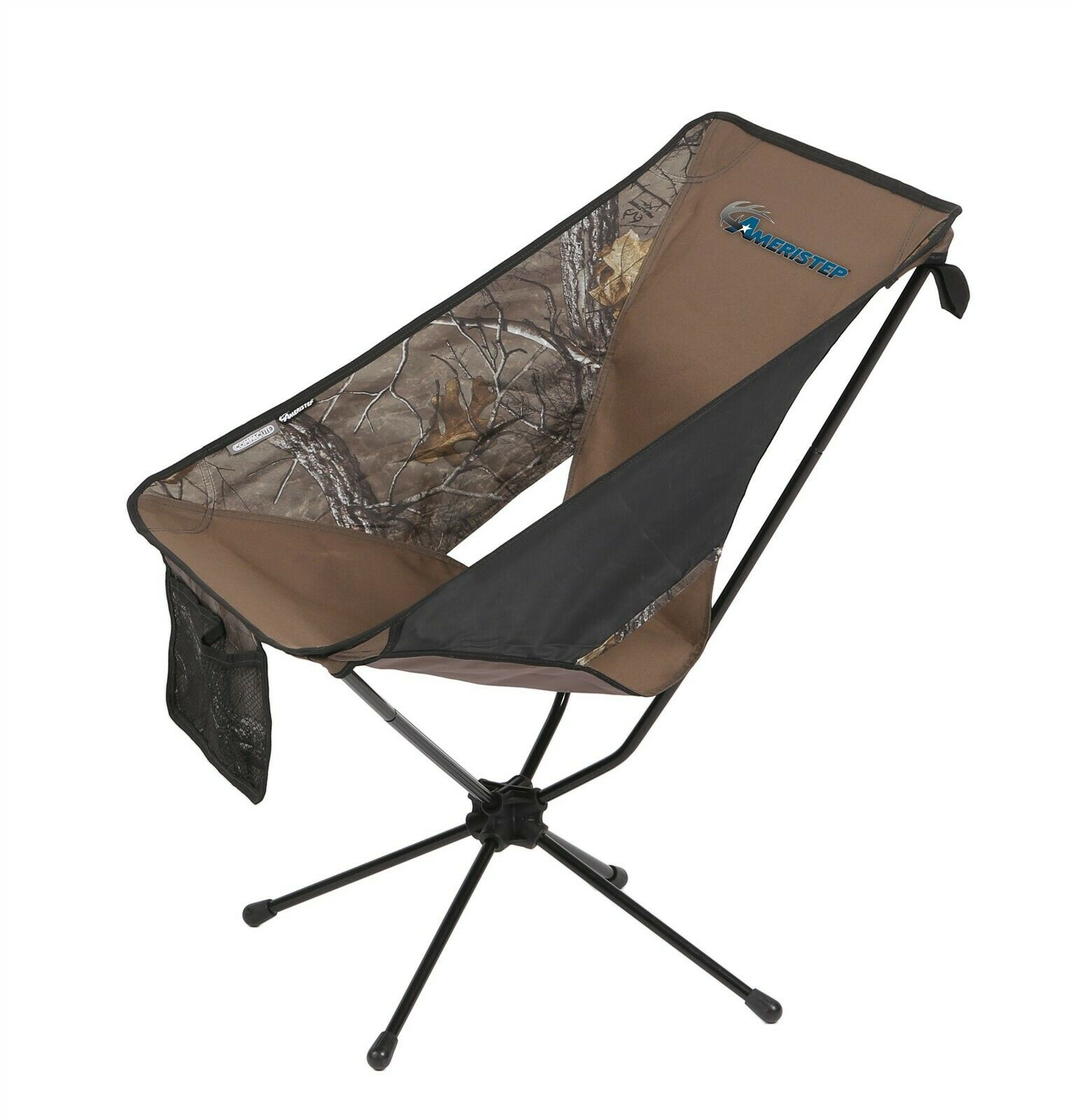 Ameristep 3RX1A025 Compact Portable Tellus Chair Realtree Xtra Camo NEW