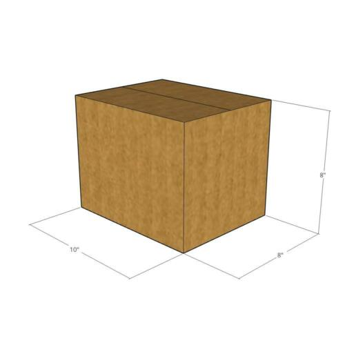"""5 Boxes 10x8x8 Multi-Depth 6/""""  32 ECT New for Packing or Shipping Needs"""