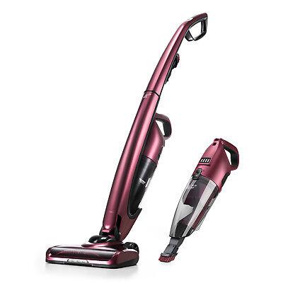 PUPPYOO WP511US Cordless Vacuum Cleaner Stick 2 in1 Handheld Car Vacuum Cleaner