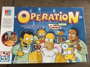 OPERATION SIMPSONS GAME LIMITED EDITION MB GAMES THE ...