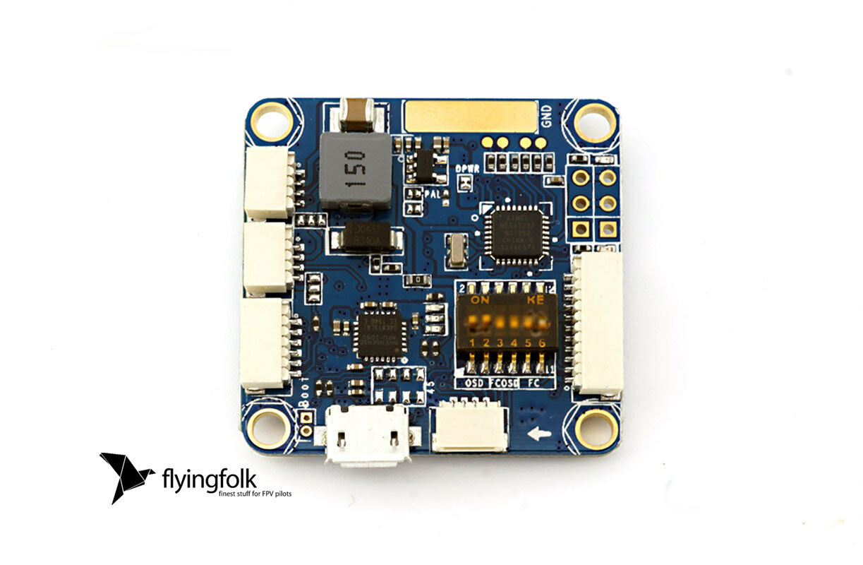 CORRENTE AIO Sistema controllo volo Naze32 Flip32 FPV con MOSD potenza-mozzo BEC