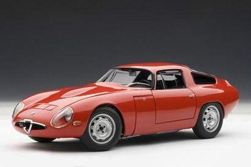 1 18 AUTOART - ALFA ROMEO TZ 1963 (rot) -  | Ausgezeichnet