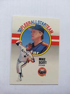 Details About 1990 Fleer All Stars Mike Scott Houston Astros 10 Baseball Card