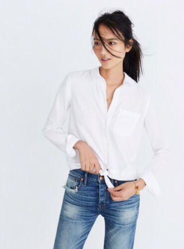 Authentique Taille chemise à devant nouer 50 Xs Madewell nouée 79 447qBxw