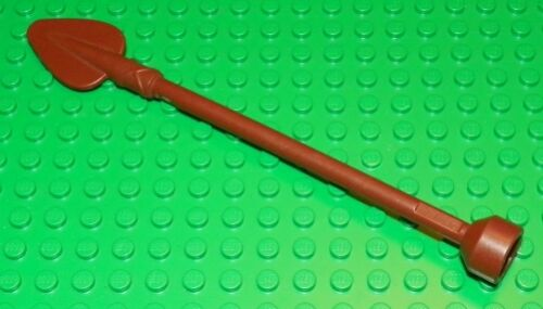 RARE LEGO Reddish Brown Duplo Utensil Spear with Stud End Case
