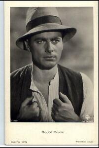 1950-60-Portraet-AK-Film-Buehne-Theater-Schauspieler-RUDOLF-PRACK-Ufa-Foto-AK