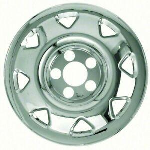 """ABS 63767 4 pack 15/"""" Chrome Wheel Skin Kit fits 1997-2001 Honda CR-V"""