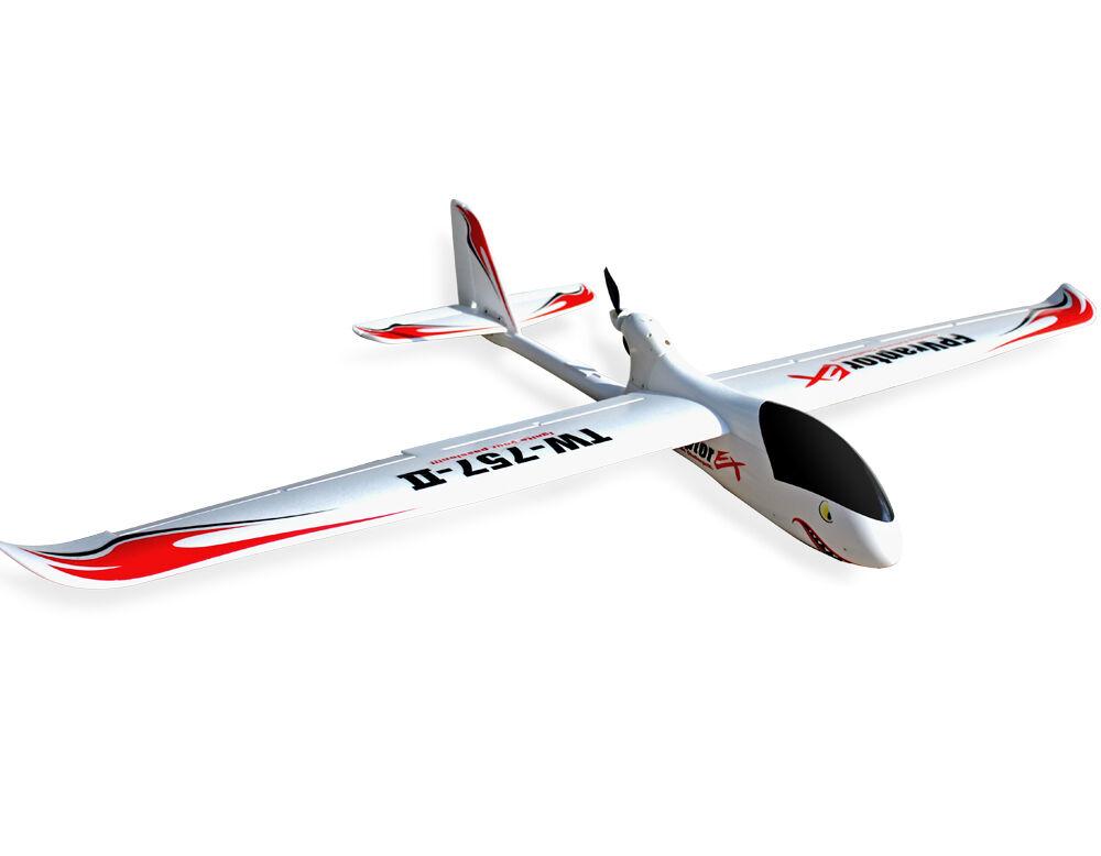 Volantex FPV Raptor 2M RC Kit Glider Plane modelo con motor servos ESC 3S Batería o