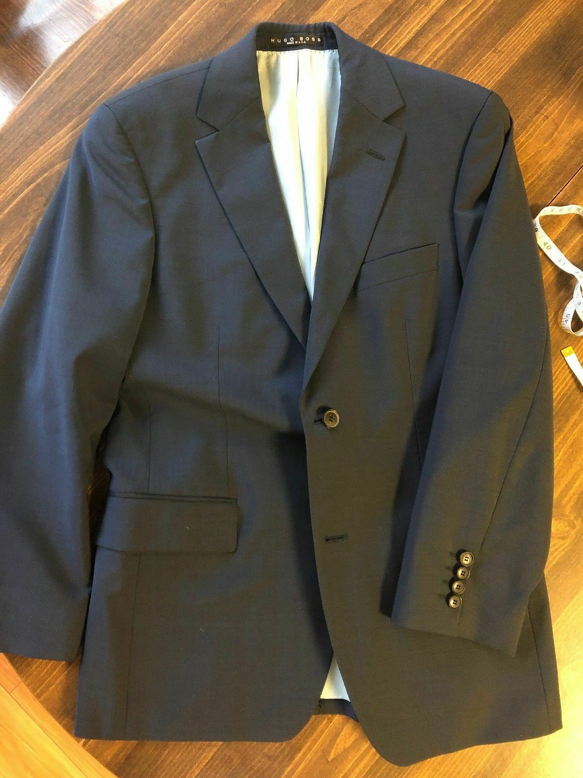 6a3cd3d7e Hugo Boss 100% Wool Suit - or 38s (Pasolini Movie fit) 36s bluee ...