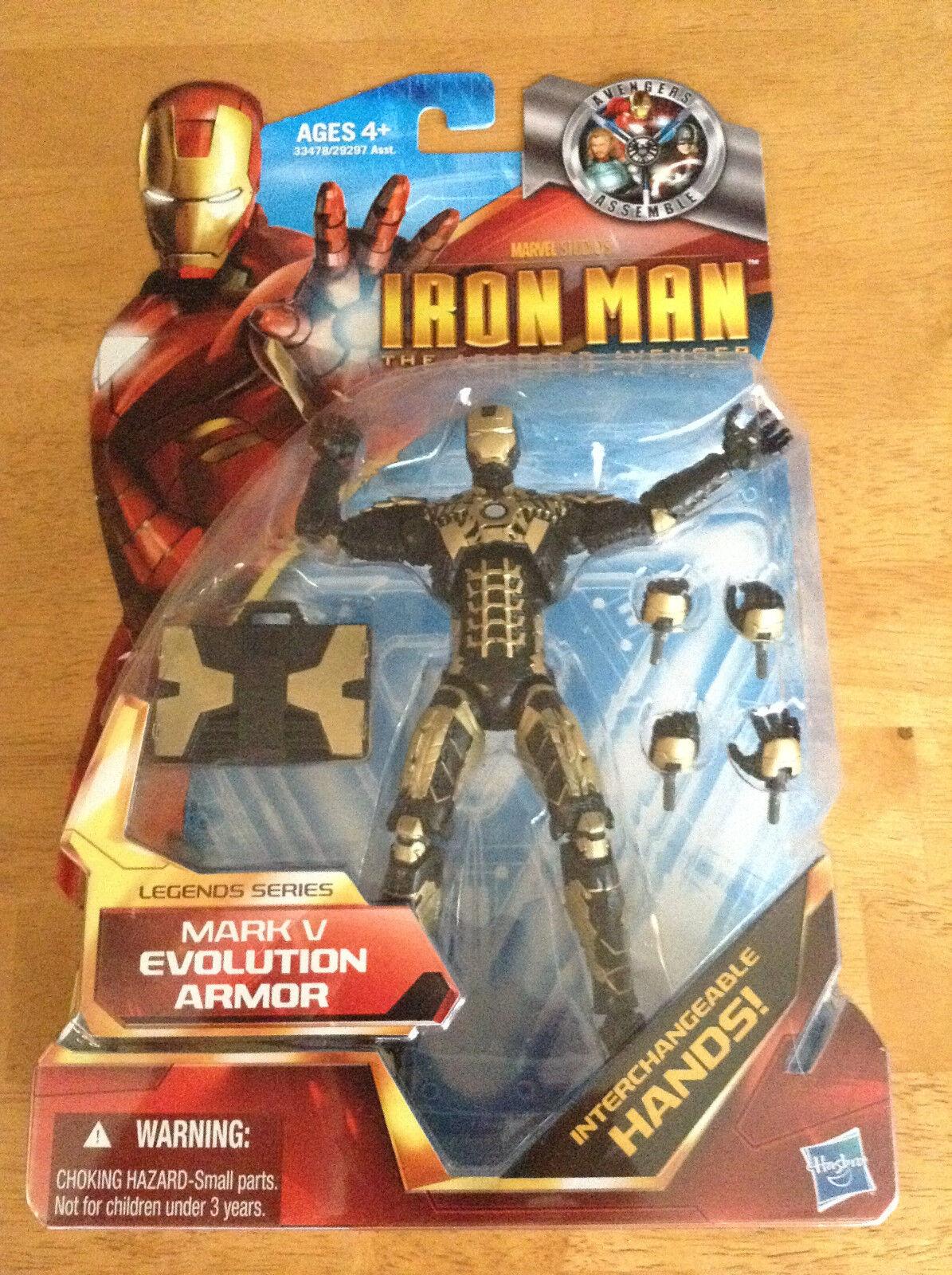 Marvel - legenden neue bild - mark v entwicklung rüstung - iron - man - gepanzerten rächer