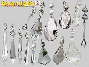Kristall Perlen Kronleuchter ~ Tropfen perlen geschliffenes glas kristalle vintage hochzeit