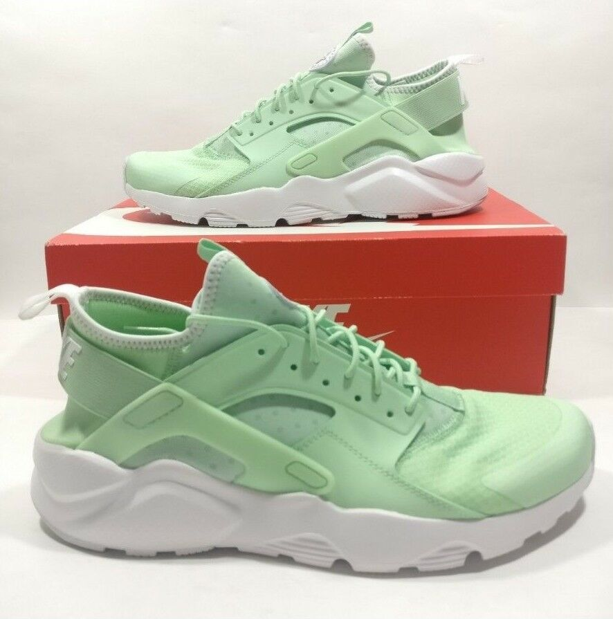 Mens Nike Air Huarache Run Ultra Mint White Running shoes 819685-302 Size 10.5