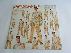 Elvis-Presley-Elvis-Gold-Records-Volume-2-50-000-000-Fans-LP-1960-Vinyl-Record