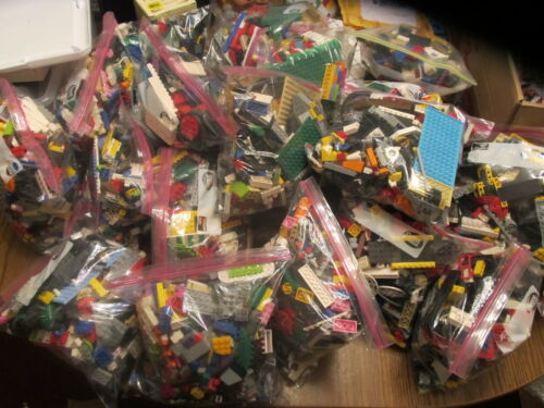 pounds of GENUINE LEGOS bricks parts pieces FREE SHIPPING IN US 2