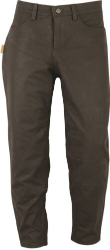 Mens Hikers Hunters Outdoor Boot Trousers genuine Nubuck Leather Hunting Pant