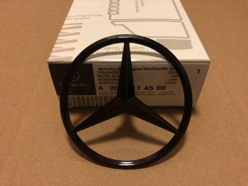 Mercedes C Class W205 Rear Boot Lid Badge Emblem Star - Gloss Black A2058174500
