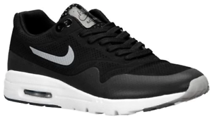 Details about Nike Air Max 1 Ultra Women's BlackMetallic SilverWhiteBlack 704995 001 Sz. 12