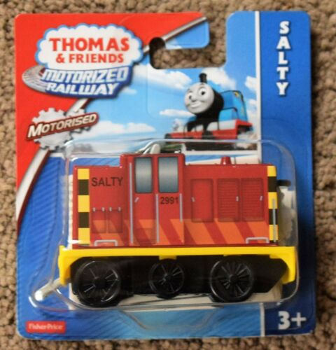 FISHER PRICE THOMAS THE TANK MOTORIZED RAILWAY YONG BAO HIRO TOBY SALTY DIESEL