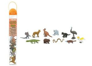 Safari-ltd-681404-Australien-la-Vie-Bas-Under-11-Serie-de-Mini-Figurines-Tubos