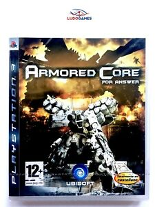 Armored-Core-For-Answer-PS3-PLAYSTATION-Neuf-Scelle-Scelle-Produit-Nouveau-Spa