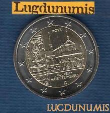 2 euro Commémo - Allemagne 2013 Monastère Maulbronn F Stuttgart Germany