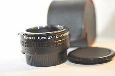 Rokinon 2X Tele converter Doubler for Nikon AI manual focus Nikkor lens camera